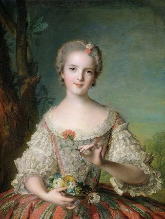 Portrait of Madame Louise de France at Fontevrault, 1748