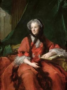 Portrait of Madame Maria Leszczynska (1703-68) 1748 by Jean-Marc Nattier