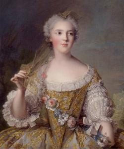 Portrait of Madame Sophie de France, 1748 by Jean-Marc Nattier