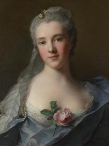 Portrait of Manon Balletti, 1757 by Jean-Marc Nattier
