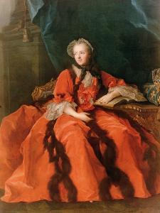 Portrait of Maria Leszczynska (1703-68) 1762 by Jean-Marc Nattier