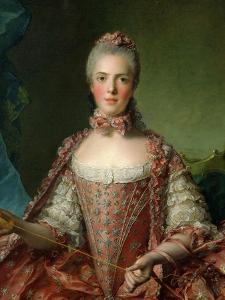 Portrait of Marie Adelaide 1756 by Jean-Marc Nattier