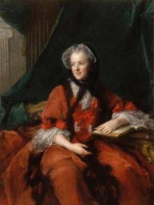 Portrait of Marie Leszczynska, Queen of France (1703-176) by Jean-Marc Nattier