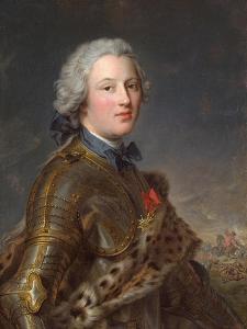 Portrait of Pierre Victor, Baron De Besenval De Brünstatt (1722-179), Second Half of the 18th C by Jean-Marc Nattier
