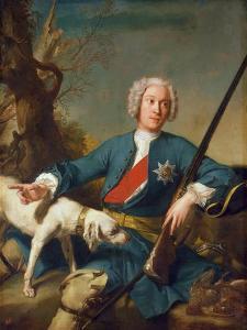 Portrait of Prince Alexander Kurakin (1697-174), 1728 by Jean-Marc Nattier