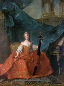 Princess Anne Henriette of France (1727-175) by Jean-Marc Nattier