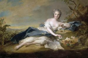 Princess Anne Henriette of France (1727-175) by Jean-Marc Nattier