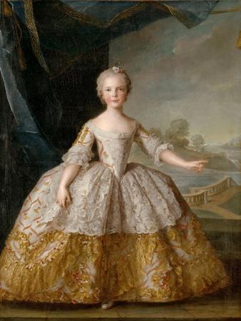 Princess Isabella of Parma (1741-176) as Child