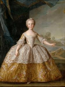 Princess Isabella of Parma (1741-176) as Child by Jean-Marc Nattier