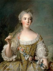 Princess Sophie of France (1734-178) by Jean-Marc Nattier