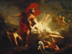 Venus and Adonis, 1713 by Jean-Marc Nattier