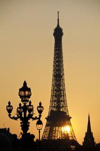 Eiffel Tower at Sunset by Jean Marc Romain