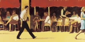 Terrasse Café Bar by Jean Marie Drouet