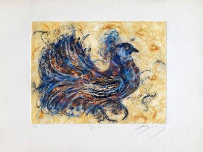 Le pigeon-paon