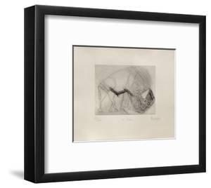 Le Bison by Jean Messagier