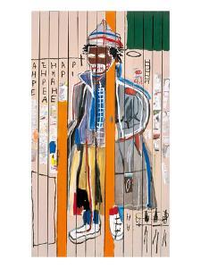 Anthony Clarke, 1985 by Jean-Michel Basquiat