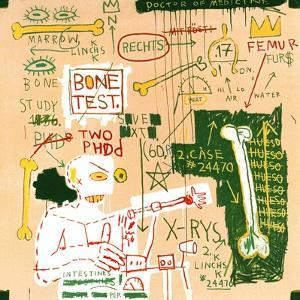 Carbon dating System Versus Scratchproof Tape, 1982 by Jean-Michel Basquiat