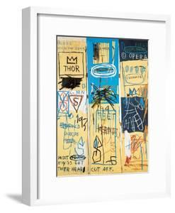 Charles the First, 1982 by Jean-Michel Basquiat