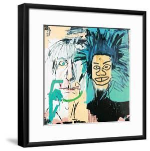 Dos Cabezas, 1982 by Jean-Michel Basquiat