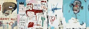 Life like Son of Barney Hill by Jean-Michel Basquiat