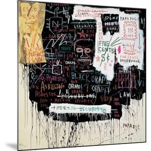 Museum Security (Broadway Meltdown), 1983 by Jean-Michel Basquiat