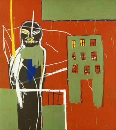 Pedestrian by Jean-Michel Basquiat