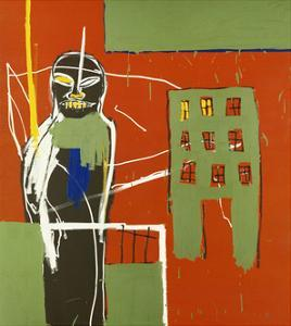 Pedestrian by Jean-Michel Basquiat