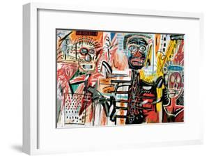 Philistines, 1982 by Jean-Michel Basquiat