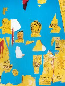 Plastic Sax by Jean-Michel Basquiat