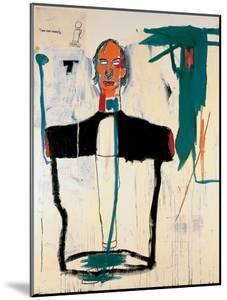 Portrait of John by Jean-Michel Basquiat