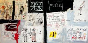 Price of Gasoline in the Third World, 1982 by Jean-Michel Basquiat