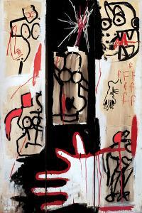 Rape of Roman Torsos by Jean-Michel Basquiat