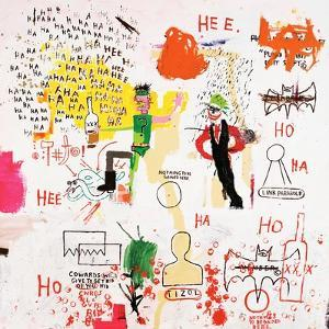 Riddle Me This, Batman, 1987 by Jean-Michel Basquiat