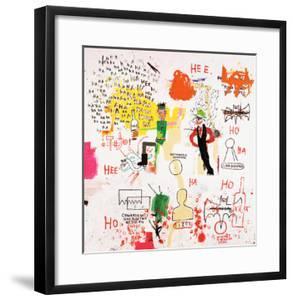Riddle Me This, Batman, 1987 by Jean-Michel Basquiat