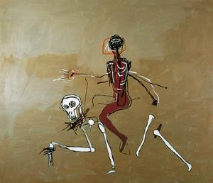 Riding with Death, 1988 by Jean-Michel Basquiat