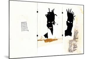 Self-portrait by Jean-Michel Basquiat