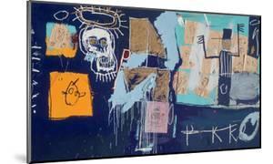 Slave Auction, 1982 by Jean-Michel Basquiat