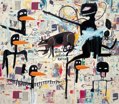 Tenor, 1985 by Jean-Michel Basquiat