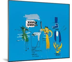 The Dingoes That Park Their Brains With Their Gum, c.1988 by Jean-Michel Basquiat