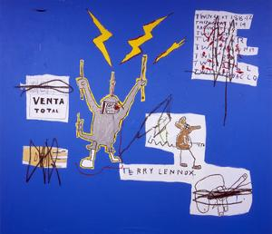 The Mechanics that always have a Gear Left Over, 1988 by Jean-Michel Basquiat