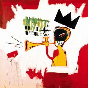 Trumpet, 1984 by Jean-Michel Basquiat