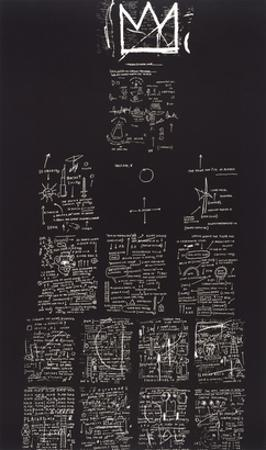 Tuxedo, 1982-83 by Jean-Michel Basquiat