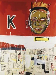 Two and a Half Hours of Chinese Food by Jean-Michel Basquiat