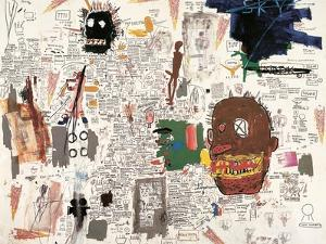 Untitled, 1987 by Jean-Michel Basquiat