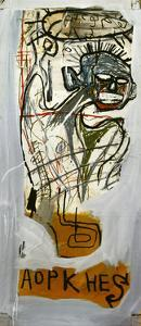 Untitled (Aopkhes) by Jean-Michel Basquiat