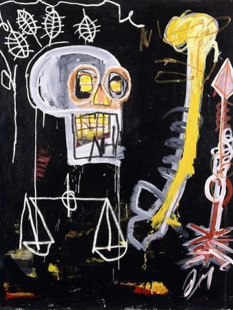 Untitled (Black Skull) by Jean-Michel Basquiat