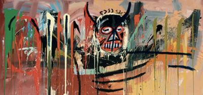 Untitled (Devil) by Jean-Michel Basquiat
