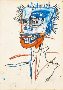 Untitled (Head of Madman), 1982 by Jean-Michel Basquiat