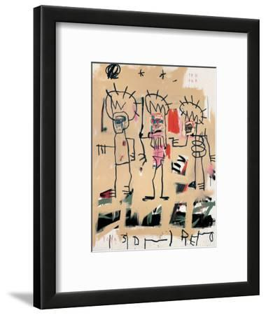 Untitled (Three Kings) by Jean-Michel Basquiat