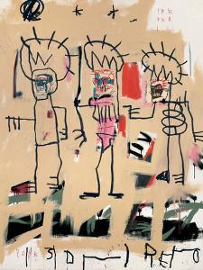 Untitled (Three Kings) by Jean-Michel Basquiat
